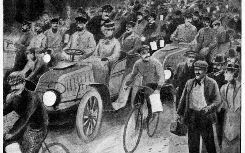 The race took place over a century ago - www.alamy.com
