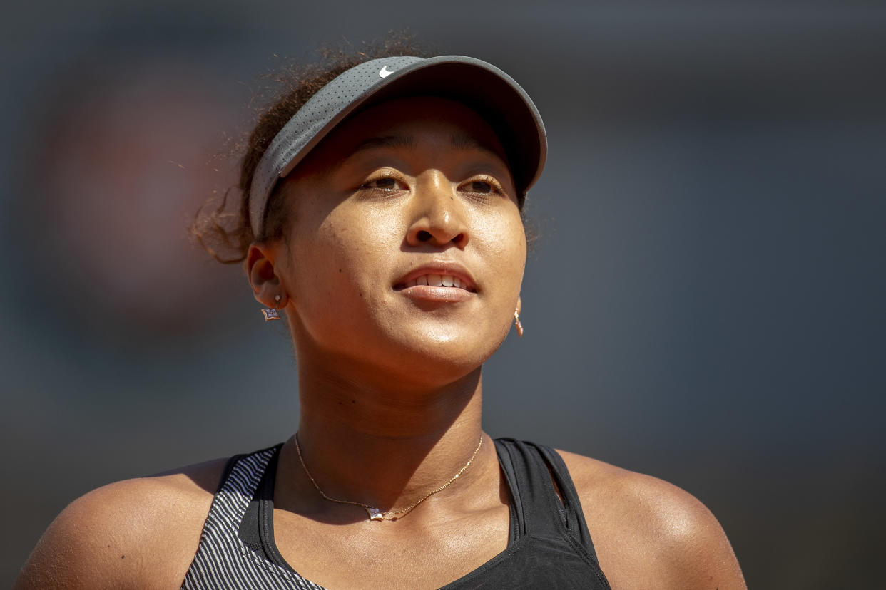 Tennis star Naomi Osaka revealed she struggles with depression and social anxiety. (Photo: Tim Clayton/Corbis via Getty Images)