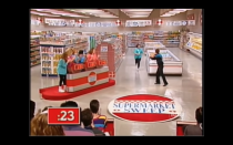 """<p>The game show features three teams of two contestants each, duking it out in the supermarket aisles. According to <a href=""""https://tv.avclub.com/what-was-it-like-to-be-on-supermarket-sweep-1798271210"""" rel=""""nofollow noopener"""" target=""""_blank"""" data-ylk=""""slk:Futia"""" class=""""link rapid-noclick-resp"""">Futia</a>, you were required to have a partner in order to appear on the show.</p>"""
