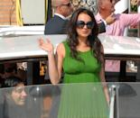 """<p>Lohan was attending the 63rd International Venice Film Festival<span class=""""redactor-invisible-space"""">, and got to drive away in a gondola, which she was just okay with.</span></p>"""