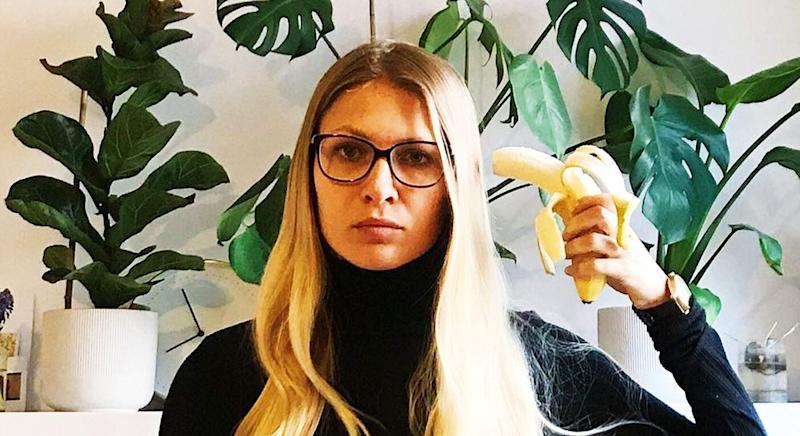 Bananas have become a protest symbol for feminist Polish activists. [Photo: Instagram]