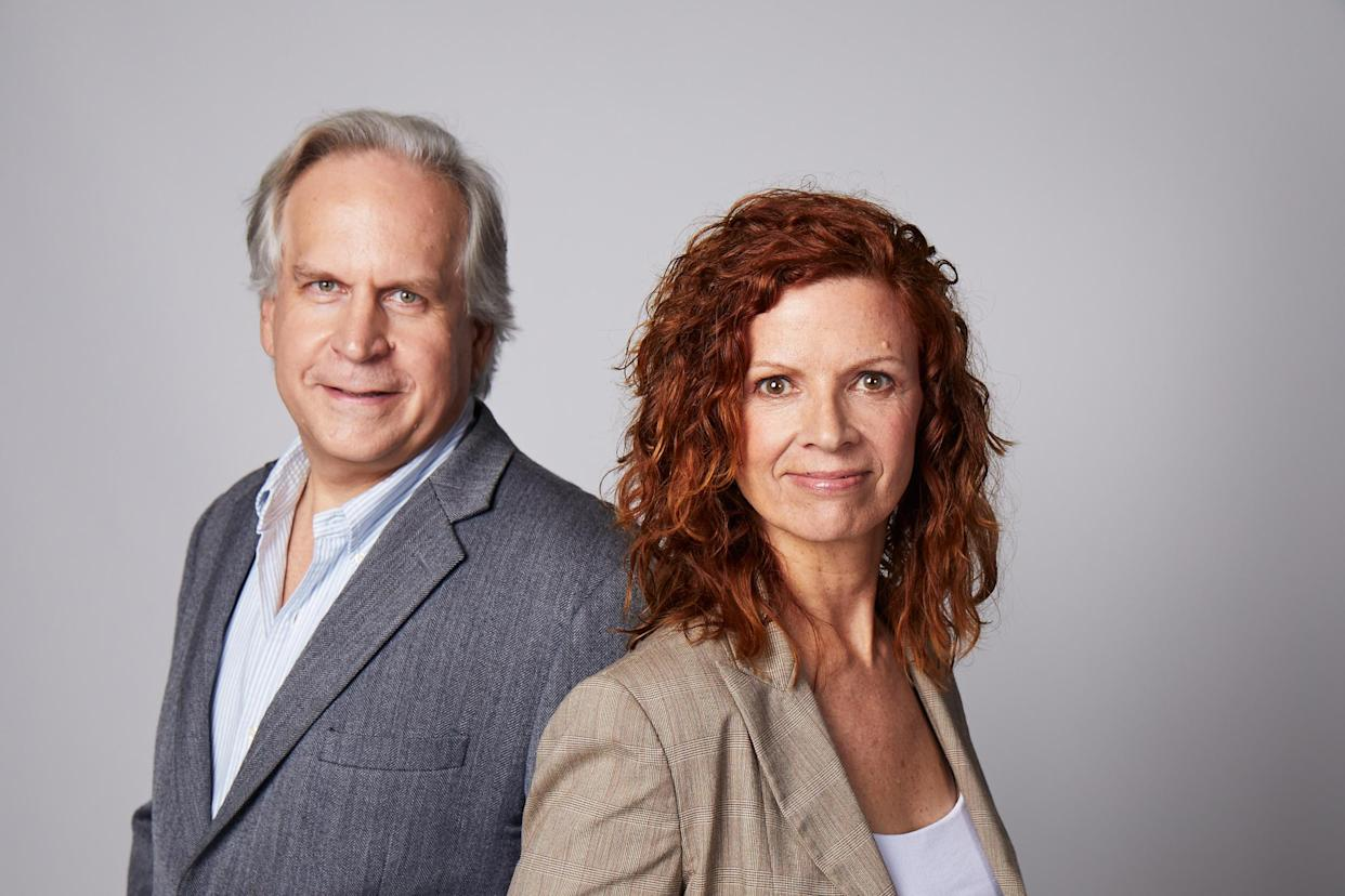 Founders and co-CEOs of Space Perspective - Jane Poynter and Taber Maccallum