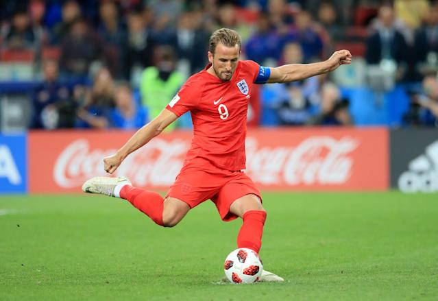 <p>It's the skipper – Harry Kane! </p>