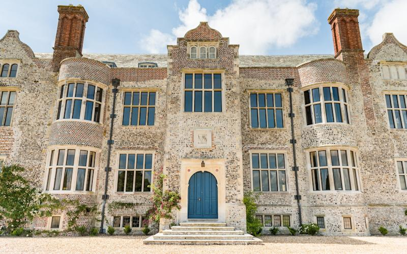 Glynde Place in East Sussex has won this year's restoration award from the HHA and Sotheby's