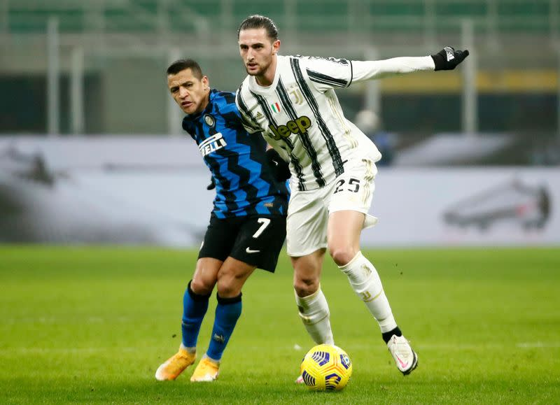 Coppa Italia – Semi Final - First Leg - Inter Milan v Juventus
