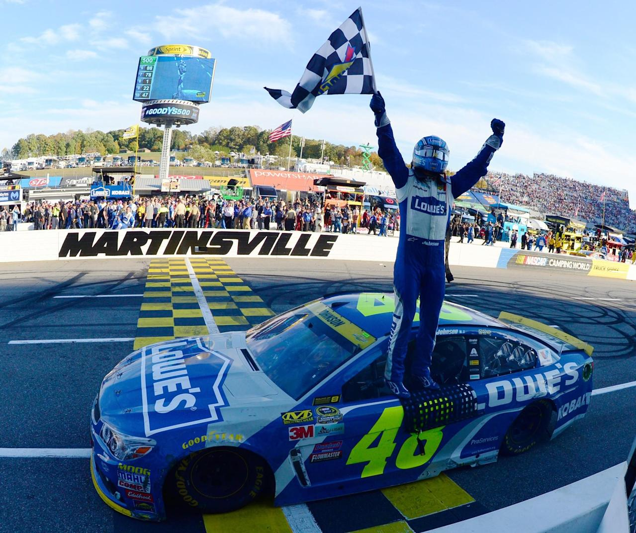 Power Rankings: Jimmie Johnson gets a win and retakes the top spot