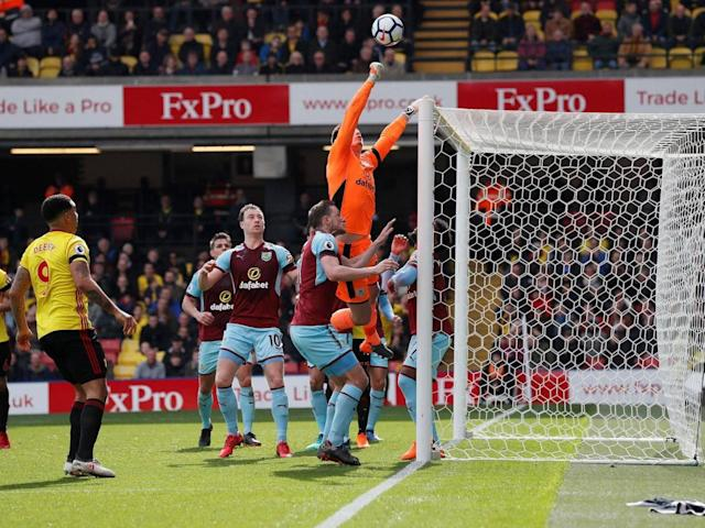 Burnley maintain European pursuit after fighting back to see off Watford