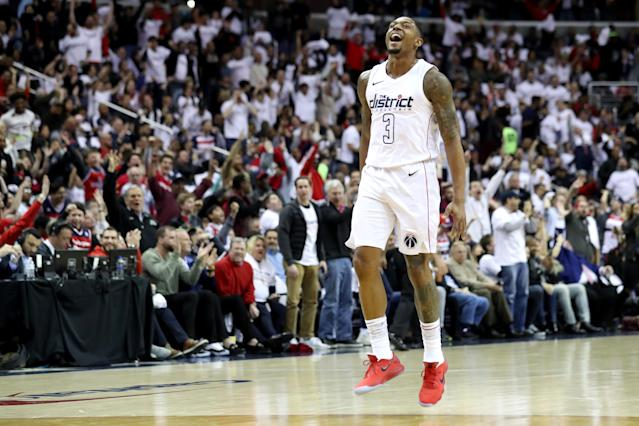 Bradley Beal and the Wizards bounced back from two losses in Toronto to get on the board back in D.C. on Friday. (Getty)