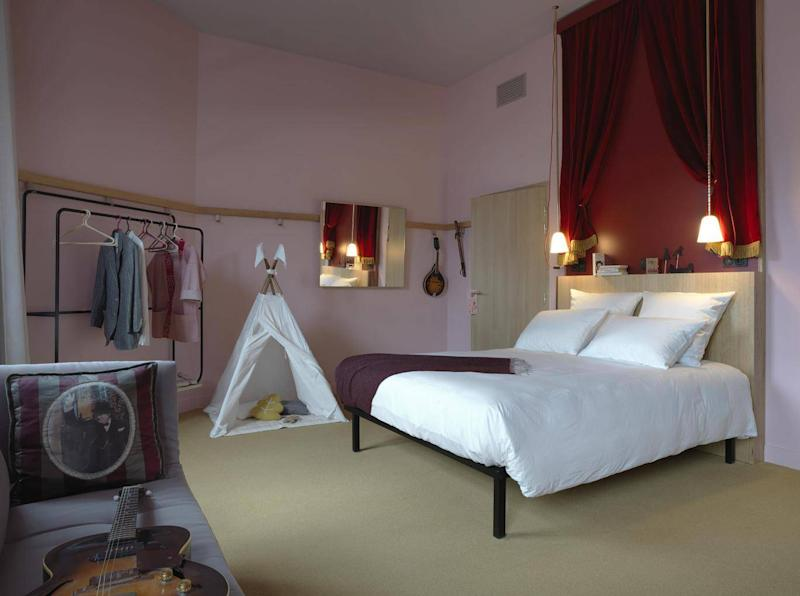 Mob Hotel has quirky decor alongside affordable prices (C Paul Bowyer)