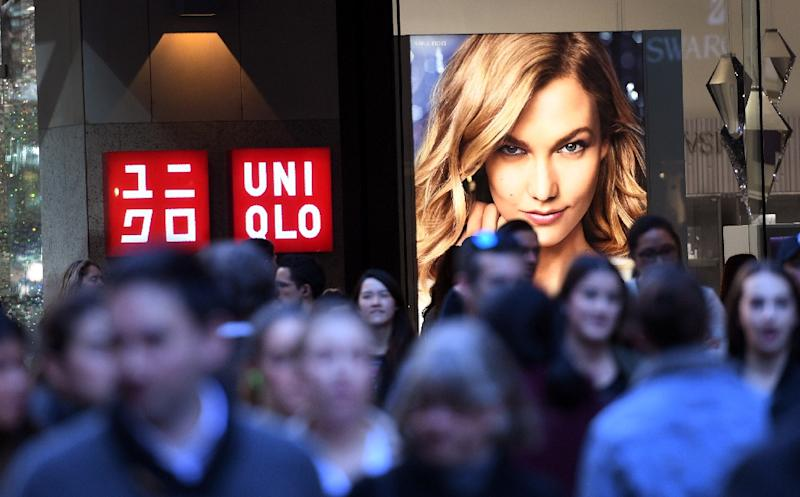Several top Australian retailers have recently succumbed to pressure from foreign giants such as Japan's Uniqlo (AFP Photo/WILLIAM WEST)
