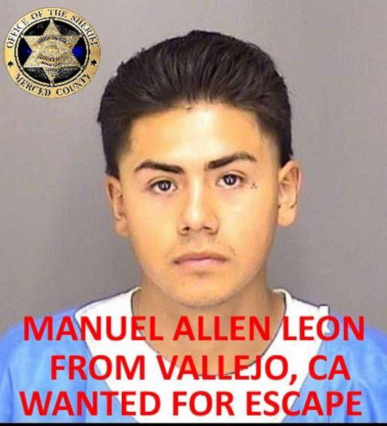 PHOTO: Manuel Allen Leon is seen in this undated photo released by the Merced County Sheriff's Office. (Merced County Sheriff's Office via Facebook)