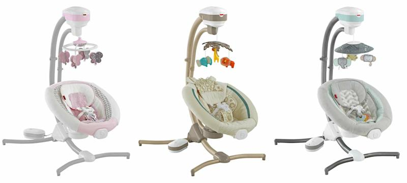Fisher Price Recalls Cradle Swings Due To Fall Risk