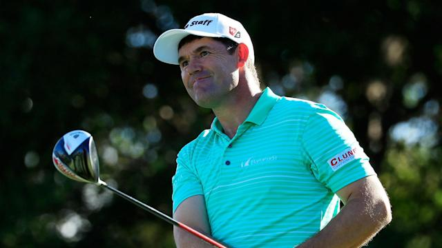 Just back from neck surgery, Harrington had to withdraw from the St. Jude Classic because of a deep cut caused by the amateur's club.