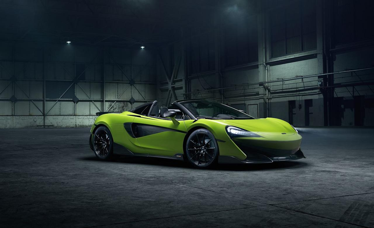<p>The last of which, indirectly, brings us here; the company's success at selling out its limited run of 500 examples back in 2015 made it almost certain that McLaren would also produce a roadster version of the new 600LT.</p>