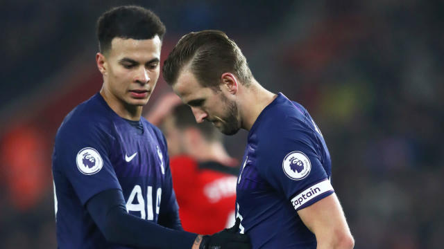 The Spurs striker had to be withdrawn against Ralph Hasenhuttl's side and his manager isn't expecting him to be available any time soon