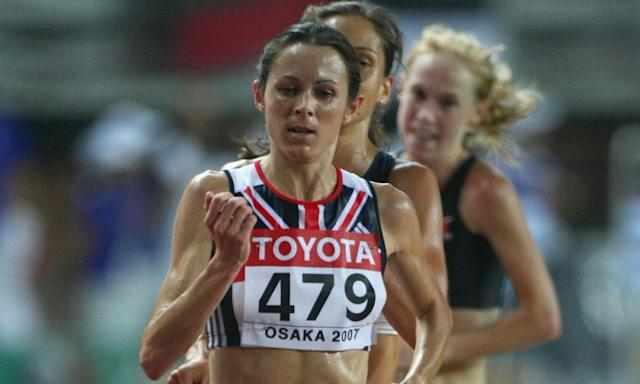 """<span class=""""element-image__caption"""">Jo Pavey will be given the bronze medal for the 10,000m final after the silver medallist Elvan Abeylegesse was found guilty of doping.</span> <span class=""""element-image__credit"""">Photograph: Alexander Hassenstein/Bongarts/Getty Images</span>"""