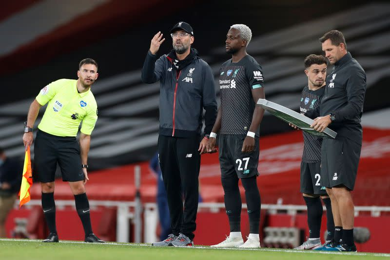 Klopp laments switch back to three substitutes ahead of new season