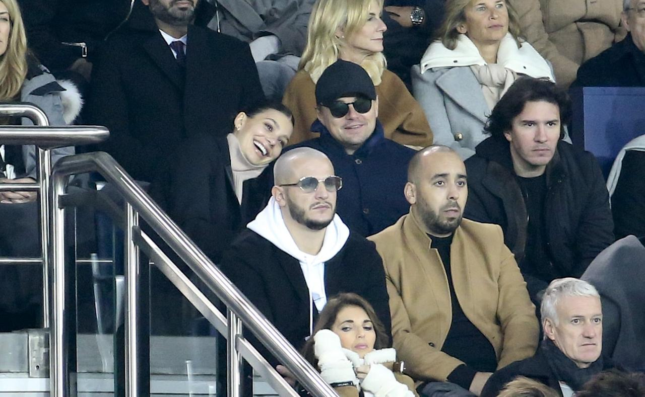 "<p>Nearly a year after their first sighting at Barneys, Leo and Camila stepped out together for a rare public appearance to attend the UEFA Campions League Group C match between Paris Saint-Germain and Liverpool FC in Paris, where they cuddled and joked around in the stands. A source for <strong>E! News</strong> claimed that the relationship was starting to get more serious, but <a href=""http://www.eonline.com/news/991526/leonardo-dicaprio-and-camila-morrone-are-getting-serious-but-don-t-expect-a-wedding-invite-anytime-soon"" target=""_blank"" class=""ga-track"" data-ga-category=""Related"" data-ga-label=""http://www.eonline.com/news/991526/leonardo-dicaprio-and-camila-morrone-are-getting-serious-but-don-t-expect-a-wedding-invite-anytime-soon"" data-ga-action=""In-Line Links"">marriage wasn't up for discussion yet</a>. ""They've been inseparable for the last year and are crazy about one another,"" the source said. ""They've gotten to know each other's families, and they love being together."" </p> <p>However, a source for <strong>Us Weekly </strong>told a very different story. Just a day before<strong> E! News</strong> ran their story, the magazine reported that <a href=""http://www.usmagazine.com/celebrity-news/news/leonardo-dicaprio-is-ready-to-settle-down-with-camila-morrone/"" target=""_blank"" class=""ga-track"" data-ga-category=""Related"" data-ga-label=""http://www.usmagazine.com/celebrity-news/news/leonardo-dicaprio-is-ready-to-settle-down-with-camila-morrone/"" data-ga-action=""In-Line Links"">a proposal could be forthcoming</a>. The source revealed, ""They're very serious and in love. They've talked about getting engaged,"" later adding that ""he's never loved a girl like this."" </p>"