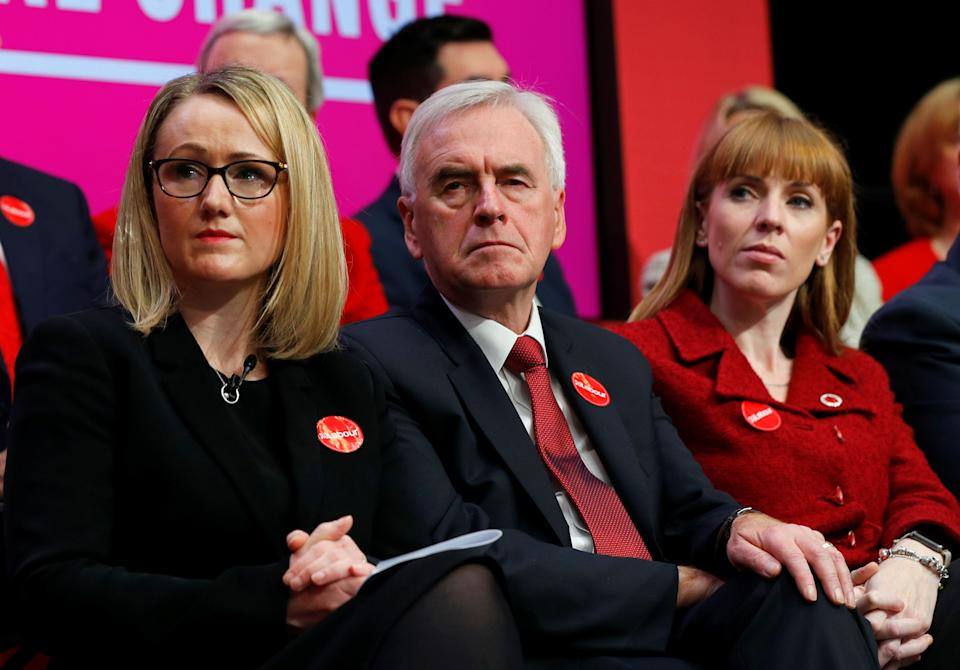 Labour Party's Shadow Business Secretary Rebecca Long-Bailey and Shadow Chancellor John McDonnell attend the launch of the party manifesto in Birmingham, Britain November 21, 2019. REUTERS/Phil Noble (Photo: Phil Noble / Reuters)
