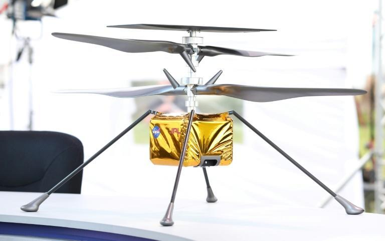 Transported aboard the Mars 2020 spacecraft that arrives at the Red Planet on Thursday, the small Ingenuity helicopter will have several challenges to overcome -- the biggest being the rarefied Martian atmosphere