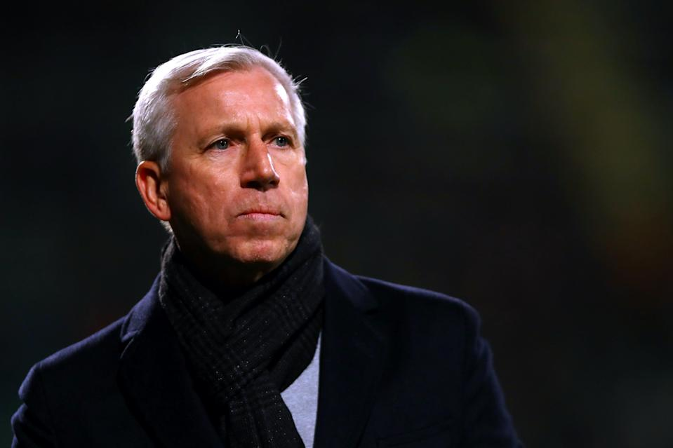 <p>Alan Pardew had been out of work since leaving Dutch club ADO Den Haag in April</p> (Getty Images)