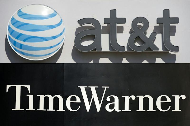 AT&T has announced an $85 billion deal to acquire Time Warner. Source: AFP/Archivos, SAUL LOEB, STAN HONDA