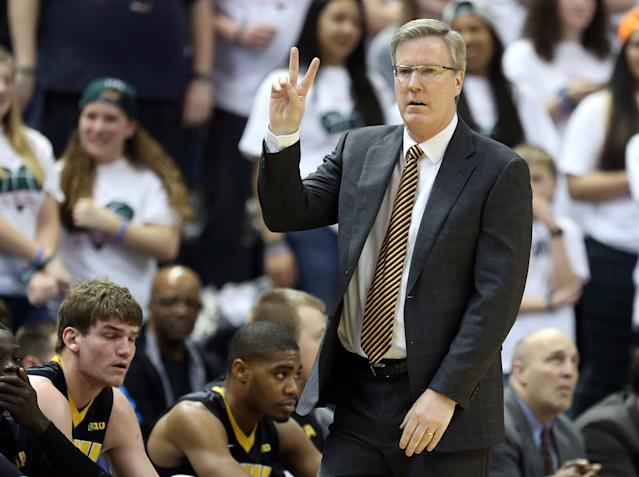 Iowa coach Fran McCaffery's son is scheduled to have surgery hours before tournament game