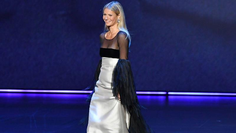 Gwyneth Paltrow Reacts to Her Emmys Walk Going Viral: 'I Don't Totally Get It'