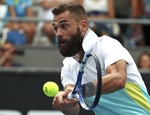 AP source: Paire out of US Open after positive COVID-19 test