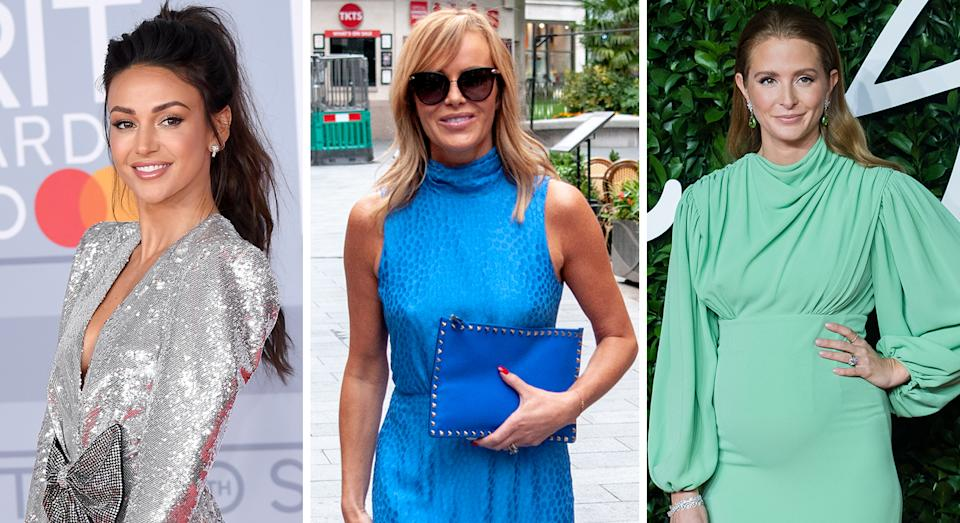 Michelle Keegan, Amanda Holden and Millie Mackintosh are among celebrities who have relied on swimwear brand Melissa Odabash.  (Getty Images)
