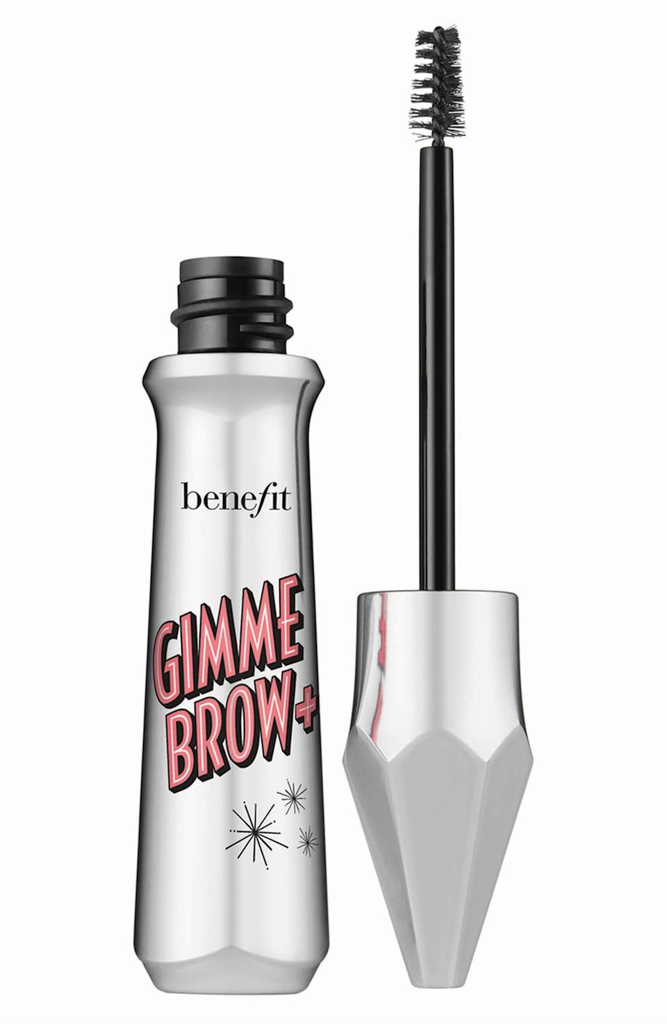 """<p><strong>BENEFIT COSMETICS</strong></p><p>nordstrom.com</p><p><strong>$12.00</strong></p><p><a href=""""https://go.redirectingat.com?id=74968X1596630&url=https%3A%2F%2Fshop.nordstrom.com%2Fs%2Fbenefit-gimme-brow-volumizing-eyebrow-gel%2F5514414&sref=http%3A%2F%2Fwww.cosmopolitan.com%2Fstyle-beauty%2Ffashion%2Fg30057282%2Fshop-nordstrom-black-friday-cyber-monday-sale-2019%2F"""" rel=""""nofollow noopener"""" target=""""_blank"""" data-ylk=""""slk:Shop Now"""" class=""""link rapid-noclick-resp"""">Shop Now</a></p><p>Your brows will look more defined, voluminous, and will *actually* stay in place with Benefit's popular fiber gel. </p>"""