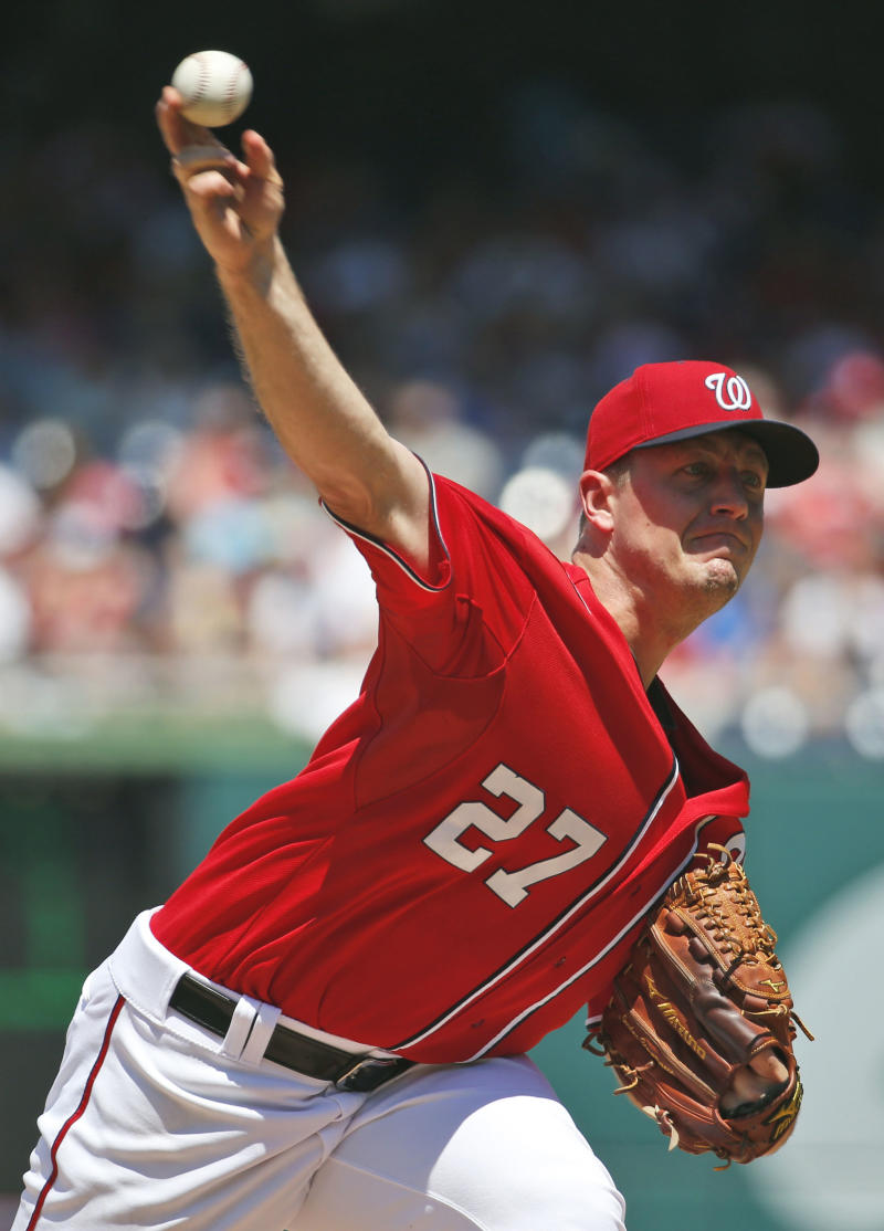 Zimmerman's single sparks Nats' 2-1 win over Cubs