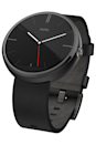 """<p><a rel=""""nofollow noopener"""" href=""""https://www.amazon.com/Motorola-Moto-SmartWatch-Android-Higher/dp/B00NC8PMUK"""" target=""""_blank"""" data-ylk=""""slk:BUY NOW"""" class=""""link rapid-noclick-resp"""">BUY NOW</a> <strong><em>$249.89, Amazon</em></strong></p><p>After connecting the watch to your phone, you can track your steps and overall activity, receive notifications such as texts and emails, reply to Facebook messages, call a car with Lyft, and more. Oh, and it still tells the time if you're curious.</p>"""