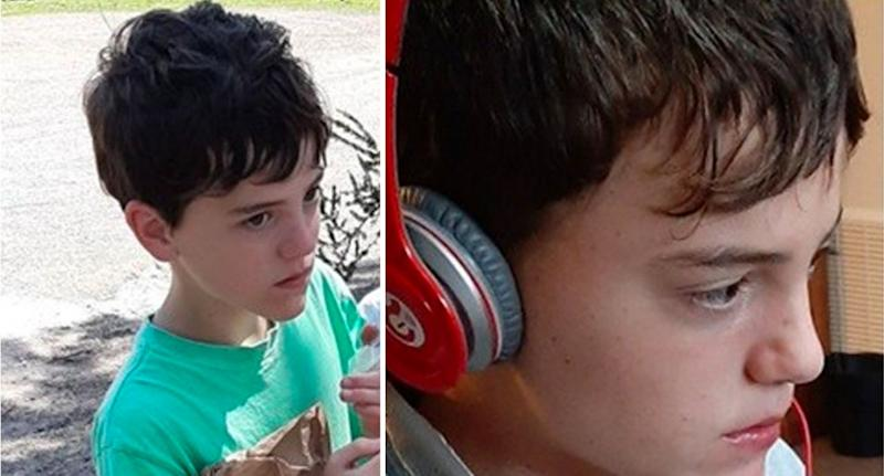 William Callaghan, 14, disappeared on Monday afternoon while walking with his family. Source: VicPolice