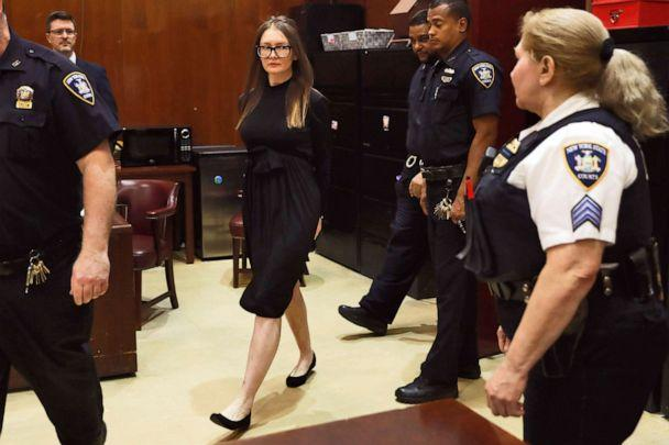 PHOTO: Anna Sorokin arrives for sentencing at New York State Supreme Court, in New York, May 9, 2019. (Richard Drew/AP, FILE)