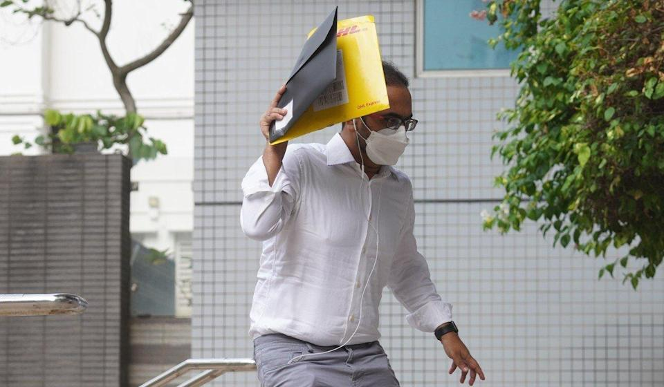 Syed Mohamed Rizvi had pleaded guilty to six counts of knowingly providing false information to officials. Photo: Winson Wong