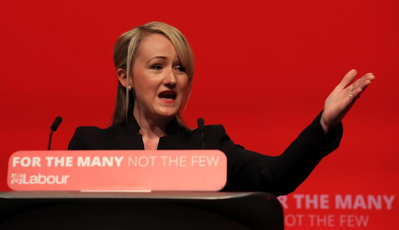 Rebecca Long-Bailey warned of the 'precipice of the fourth industrial revolution' and two minutes later we'd gone over it: PA