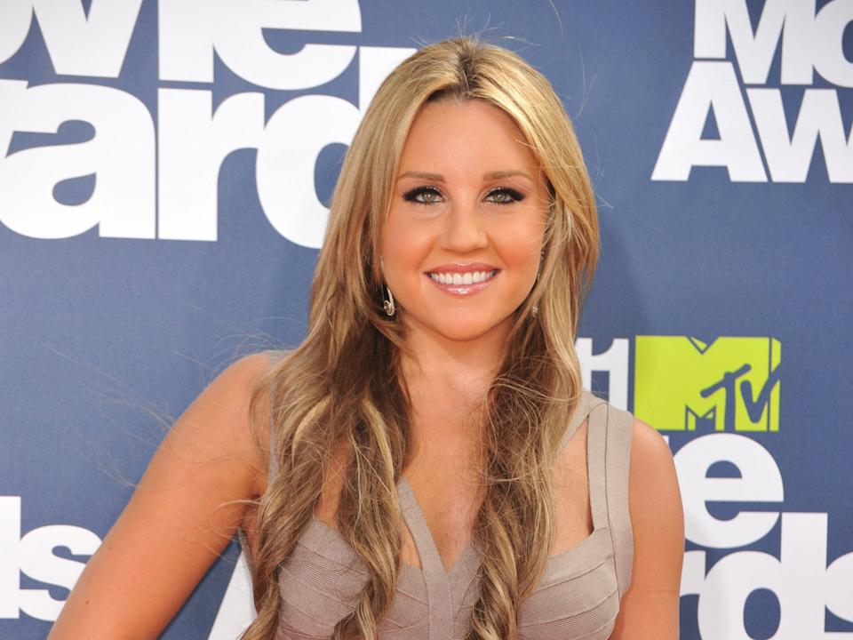Amanda Bynes at the MTV Movie Awards.