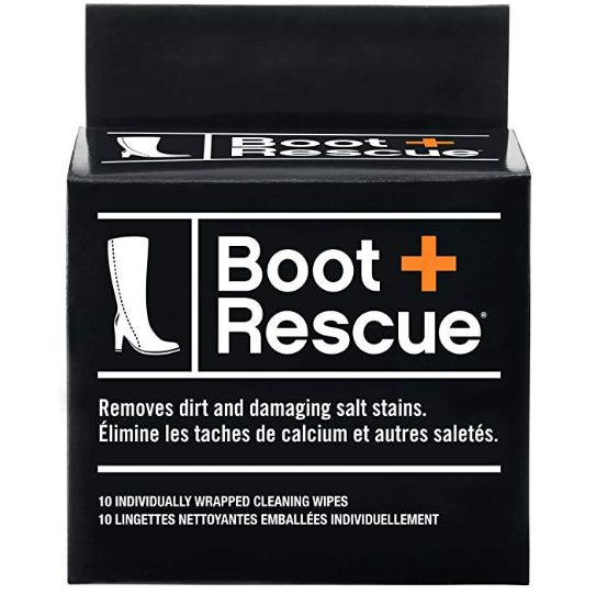 Boot Rescue All Natural Cleaning Wipes via Amazon