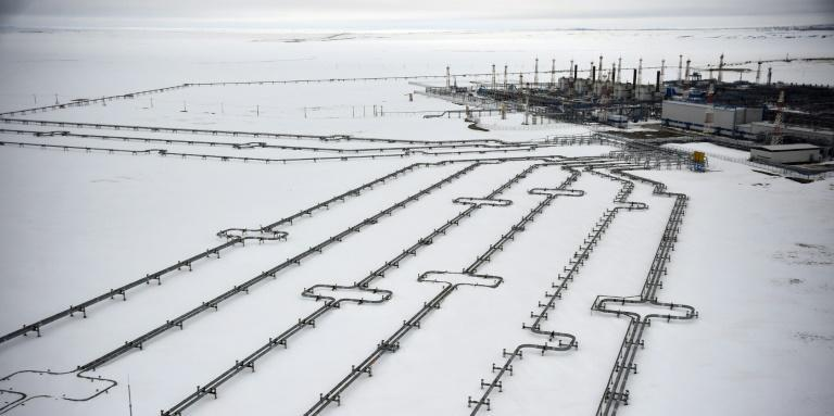 The latest step pushing the Baltic Sea pipeline to completion comes as Europe faces an energy crisis with low natural gas reserves and surging energy prices (AFP/Alexander NEMENOV)