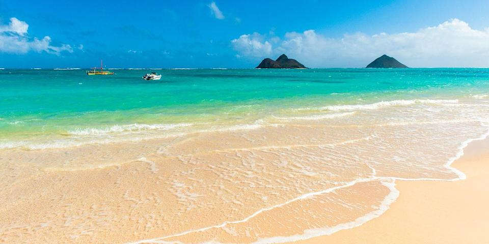 """<p>Located on Oahu's northeastern shore, <a href=""""https://www.tripadvisor.com/Attraction_Review-g60652-d526149-Reviews-Lanikai_Beach-Kailua_Oahu_Hawaii.html"""" rel=""""nofollow noopener"""" target=""""_blank"""" data-ylk=""""slk:Lanikai Beach"""" class=""""link rapid-noclick-resp"""">Lanikai Beach</a> is one of Hawaii's best beaches. Due to its offshore coral reef, the water is super calm throughout the year, making it ideal for swimming and snorkeling, as well as sailing and windsurfing.</p><p><a class=""""link rapid-noclick-resp"""" href=""""https://go.redirectingat.com?id=74968X1596630&url=https%3A%2F%2Fwww.tripadvisor.com%2FHotel_Review-g60982-d10728599-Reviews-Hyatt_Centric_Waikiki_Beach-Honolulu_Oahu_Hawaii.html&sref=https%3A%2F%2Fwww.redbookmag.com%2Flife%2Fg34756735%2Fbest-beaches-for-vacations%2F"""" rel=""""nofollow noopener"""" target=""""_blank"""" data-ylk=""""slk:BOOK NOW"""">BOOK NOW</a> Hyatt Centric Waikiki Beach</p><p> <a class=""""link rapid-noclick-resp"""" href=""""https://go.redirectingat.com?id=74968X1596630&url=https%3A%2F%2Fwww.tripadvisor.com%2FHotel_Review-g60982-d227765-Reviews-The_Surfjack_Hotel_Swim_Club-Honolulu_Oahu_Hawaii.html&sref=https%3A%2F%2Fwww.redbookmag.com%2Flife%2Fg34756735%2Fbest-beaches-for-vacations%2F"""" rel=""""nofollow noopener"""" target=""""_blank"""" data-ylk=""""slk:BOOK NOW"""">BOOK NOW</a> Surfjack Hotel & Swim Club</p><p><strong>More: </strong><a href=""""https://www.bestproducts.com/fun-things-to-do/g21237324/most-beautiful-islands-in-the-world/"""" rel=""""nofollow noopener"""" target=""""_blank"""" data-ylk=""""slk:These Are the Most Beautiful Islands in the World"""" class=""""link rapid-noclick-resp"""">These Are the Most Beautiful Islands in the World</a></p>"""