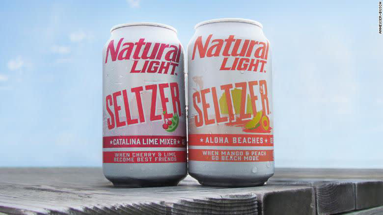 Anheuser-Busch Wants In On The Seltzer Game