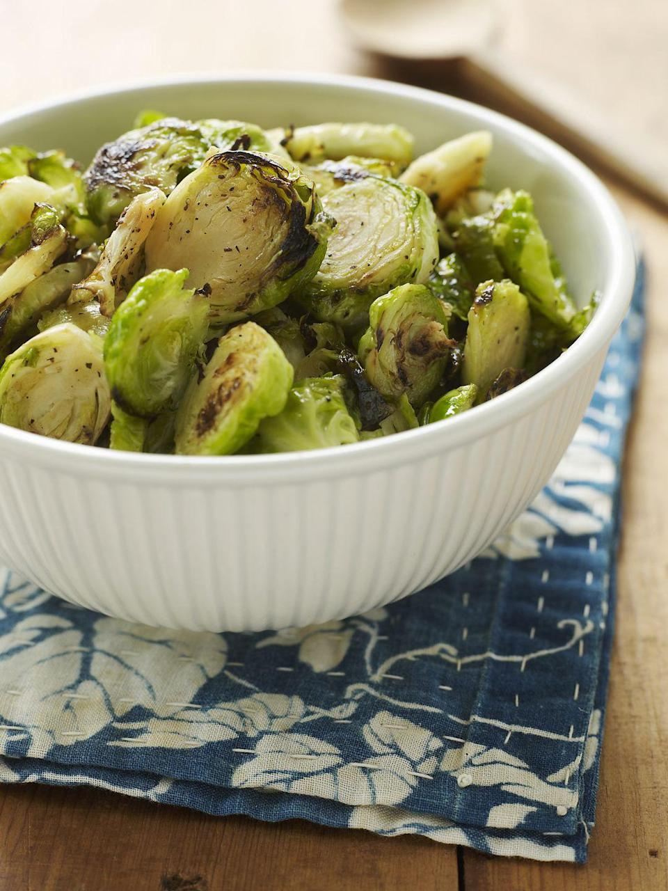 <p>Despite what popular culture makes them out to be, Brussels sprouts are incredibly tasty, especially when you roast them and coat them in a little olive oil and salt. Brussels sprouts also qualify as one of the many veggies that you can eat on while on Whole30. </p>