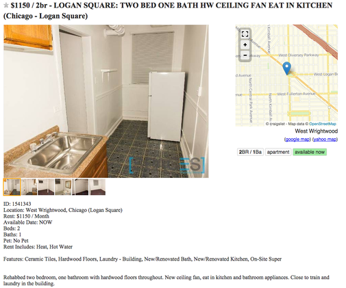 It Came From Craigslist: Logan Square's Worst Apartment