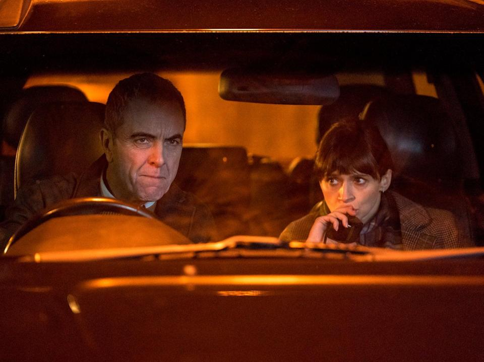 James Nesbitt and Niamh McGovern in the second episode of Bloodlands (BBC / HTM Televison /Steffan Hill )