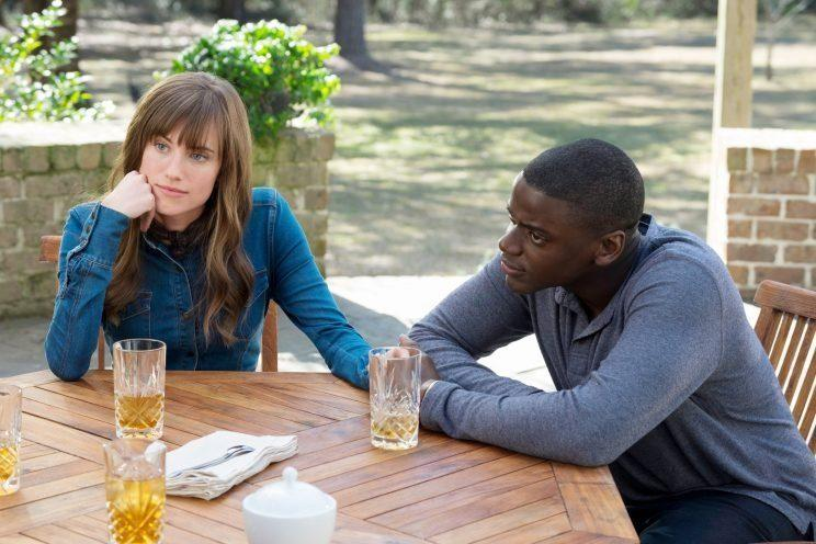 Allison Williams and Daniel Kaluuya in 'Get Out'