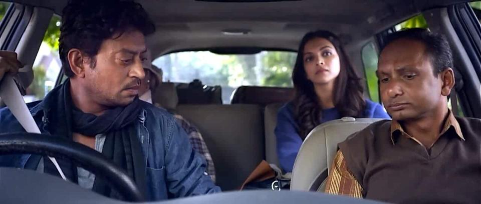 It's rare to see a powerful third lead in a Hindi film, but trust Irrfan to pull that off, too. As Rana, he eases into the unusual pairing of him and Deepika Padukone as Piku. He plays the foil between Piku and her volatile father Bhaskor, played by Amitabh Bachchan.