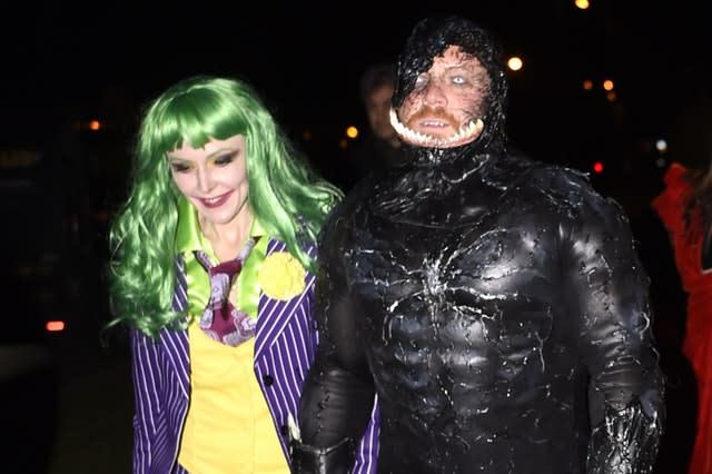 Keith Lemon at a Halloween party