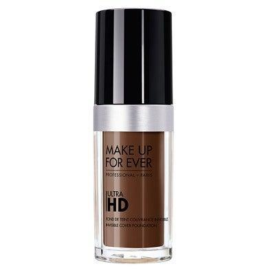 """Makeup artists can't imagine their kit without this foundation, which they adore for the believable glow. Medium coverage, it lends skin a soft-focus finish that blurs blemishes and discolouration without the heavy look or feel. The HD Concealer is also a must-try. <br><br><strong>Make Up For Ever</strong> Ultra HD Invisible Cover Foundation, $, available at <a href=""""https://www.feelunique.com/p/MAKE-UP-FOR-EVER-ULTRA-HD-INVISIBLE-COVER-FOUNDATION-30ml-"""" rel=""""nofollow noopener"""" target=""""_blank"""" data-ylk=""""slk:FeelUnique"""" class=""""link rapid-noclick-resp"""">FeelUnique</a>"""