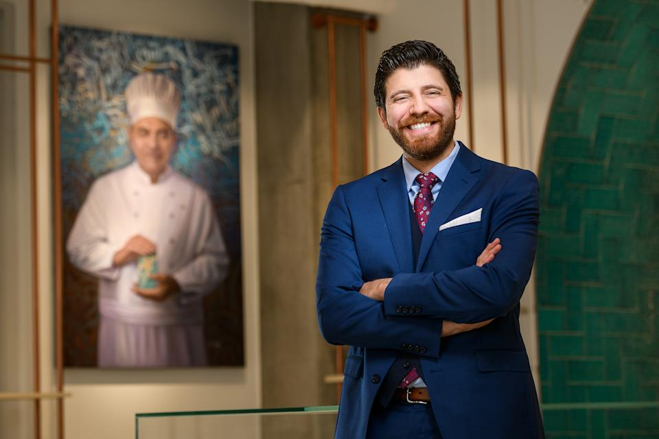 Tareq Hadhad is Syrian-Canadian, and Founder and CEO of Peace By Chocolate.